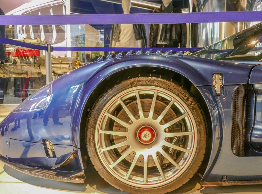 Maserati factory in Modena