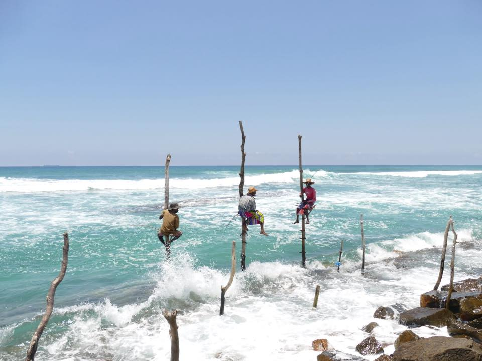 Stick Fishermen, Sri Lanka