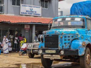 Banjul-Barra ferry crossing