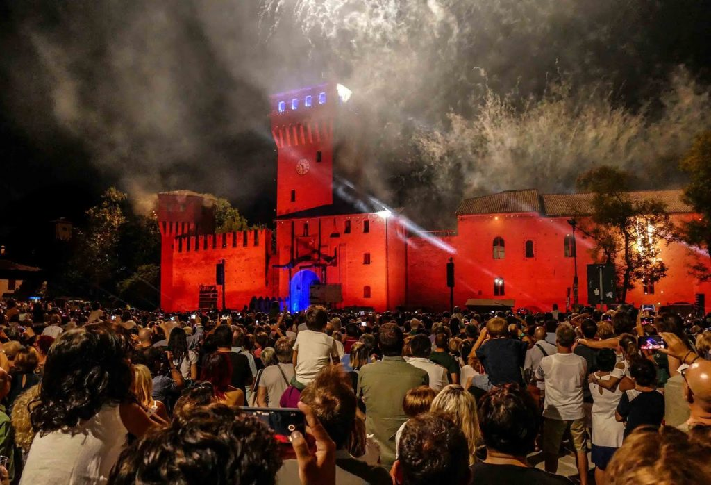 Incendio al Castello