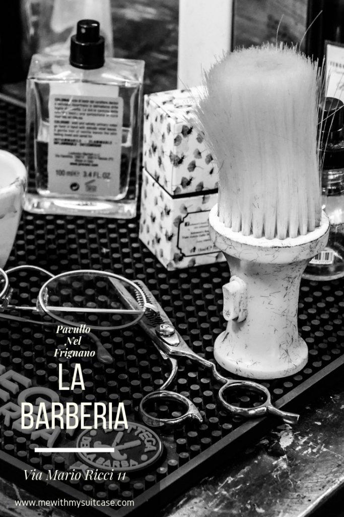 Barber shop in Modena.