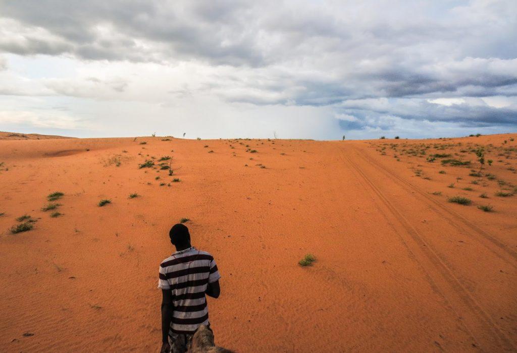 camel ride in lompoul desert