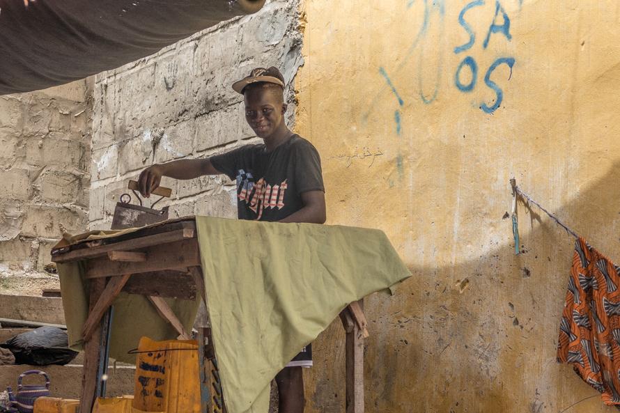 Saint Louis-Narrow Island Senegal Photos