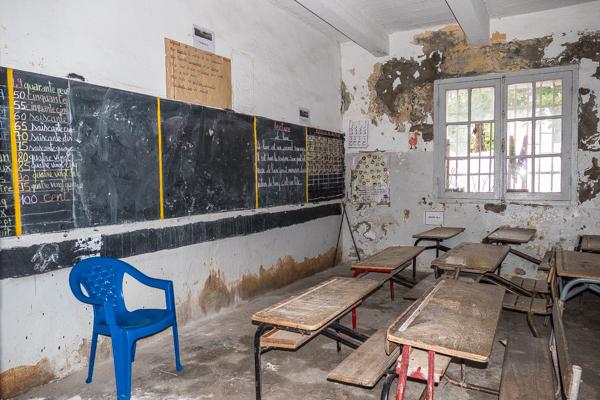 School in Saint Louis, Senegal