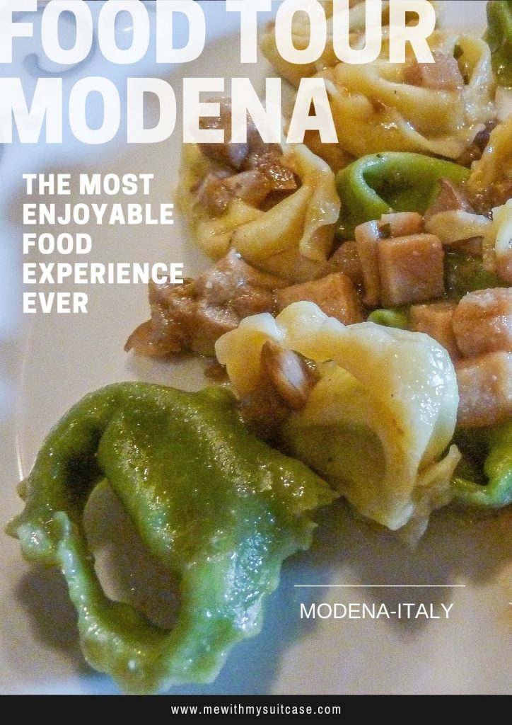 Experience your best food tour in Modena with Me With My Suitcase Team
