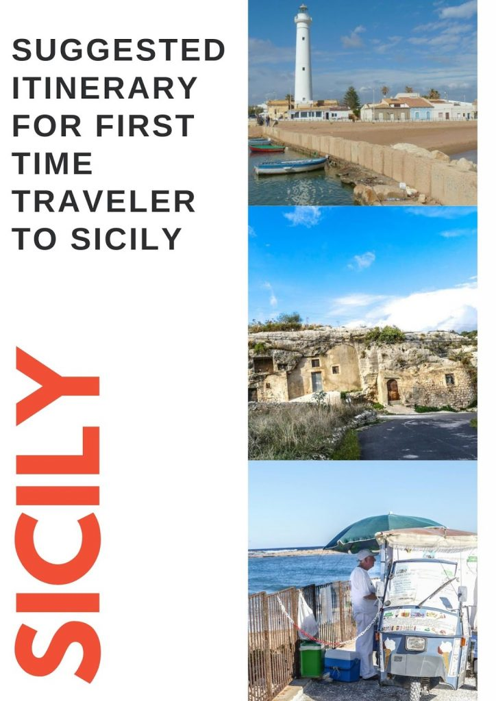 Suggested itinerary For Sicily