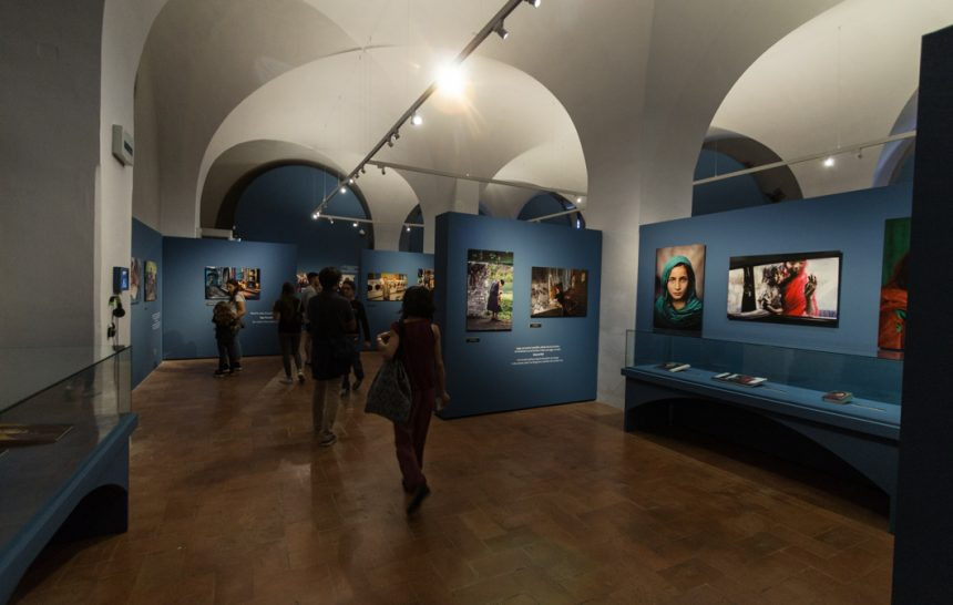 Steve McCurry's photo exhibition