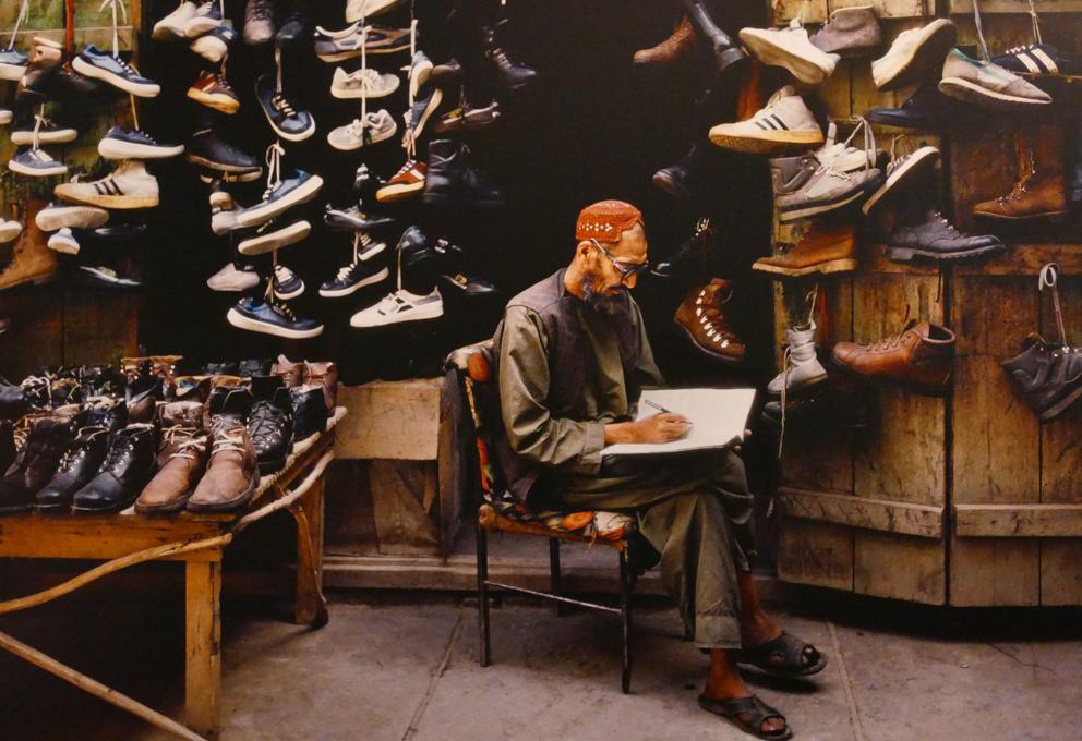 Steve McCurry's photo exhibition