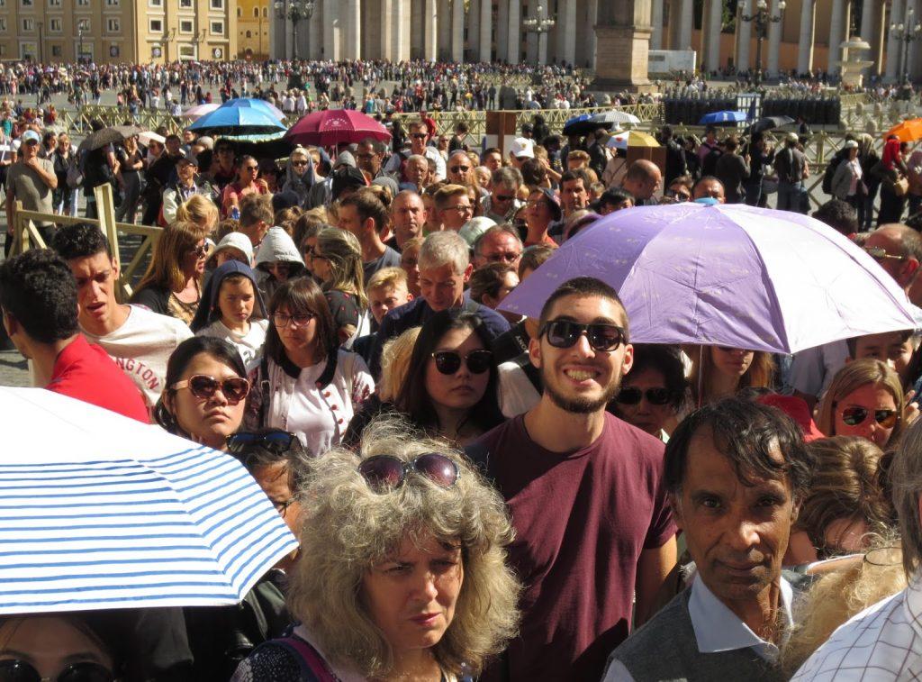 Queue in Vatican City