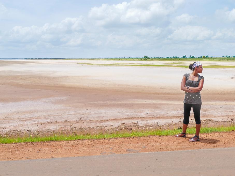 Driving from Ndangane to Karang
