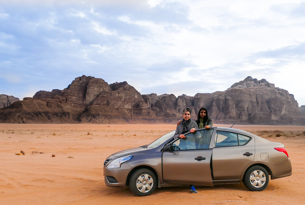 rENT A CAR IN jORDAN
