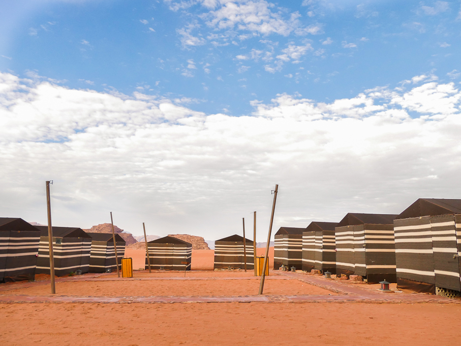 Desert Camp in Wadi Rum