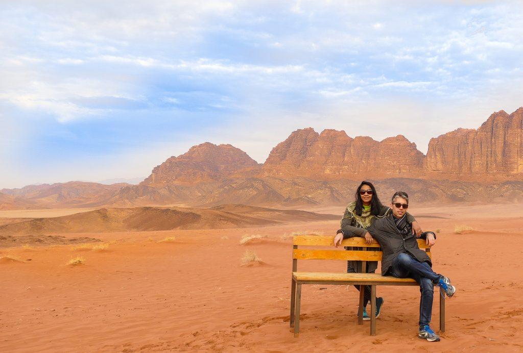 desert hotel in Jordan