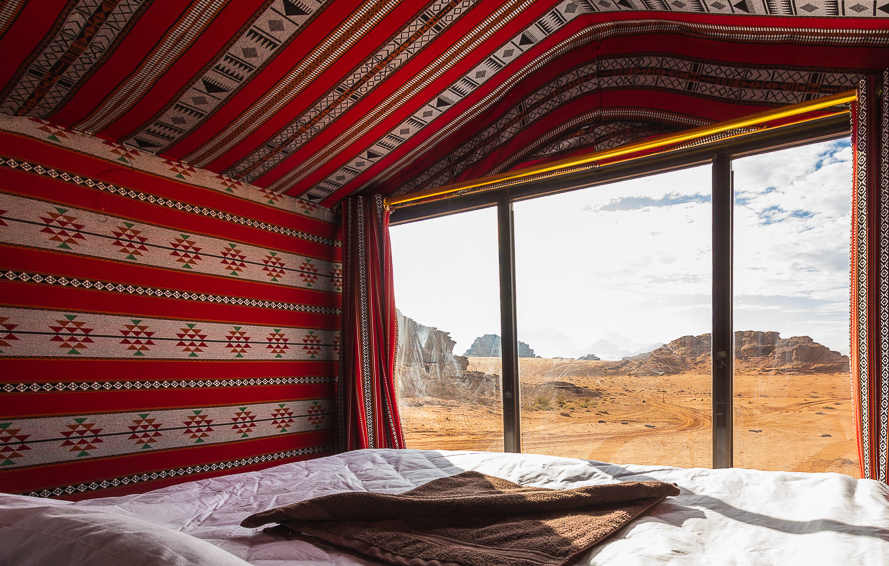 Where to stay in Wadi Rum