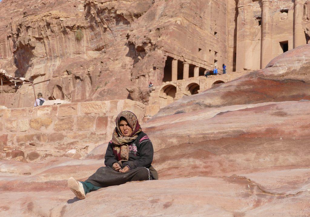 Shops in Petra