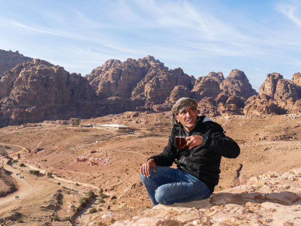drinking alcohol in Petra