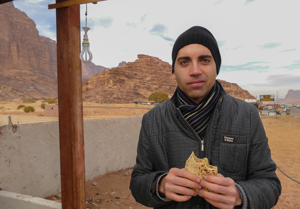 Frieds of Villa Restaurant in Wadi Rum