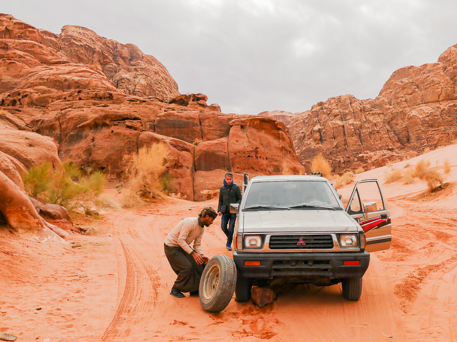 Wadi Rum Jeep Tour Experience
