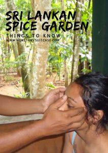 Sri Lankan Spice Garden