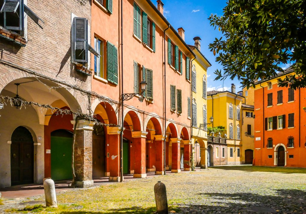 Piazza Pomposa Modena
