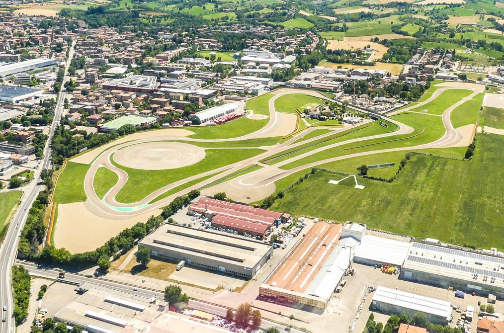 Ferrari test track Fiorano Modenese