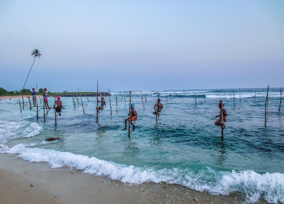 Stilt Fishermen Sri Lanka
