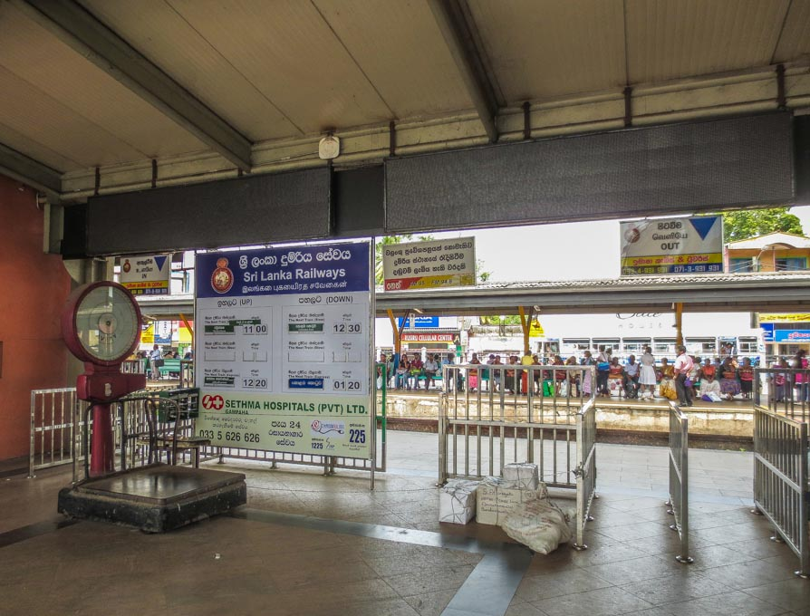 Nuwara Eliya trains