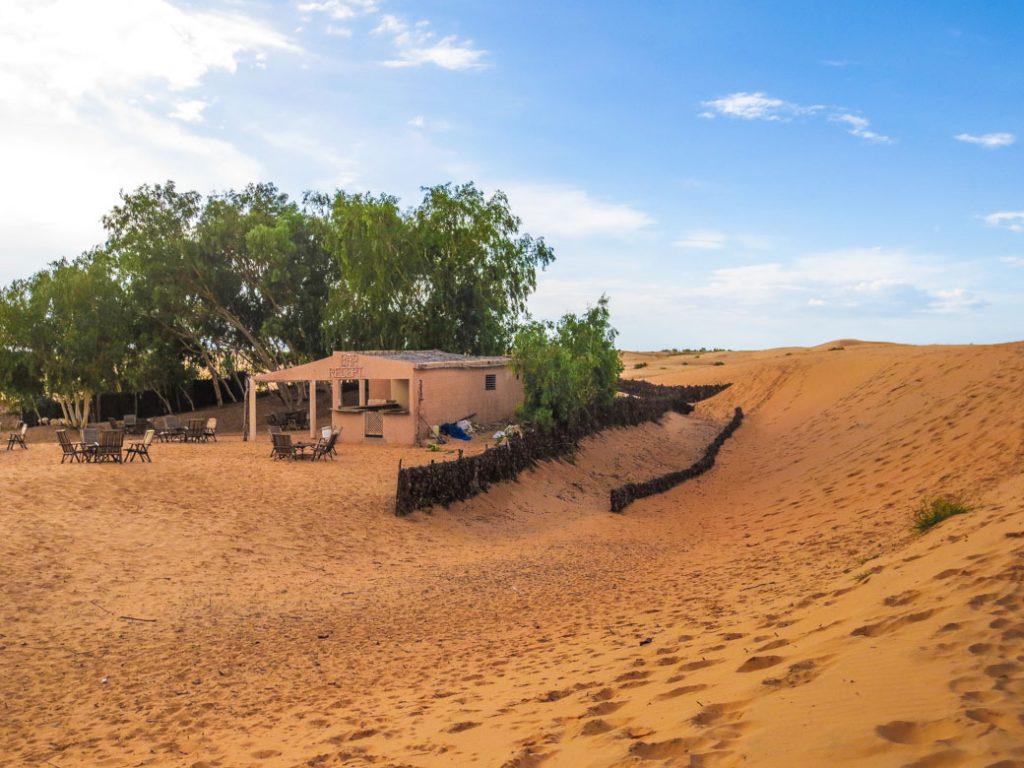 desert tents in Lompoul